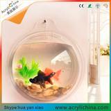 透明小鱼缸批发 有机玻璃鱼缸订制